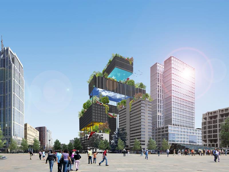 Rotterdam verheven leven